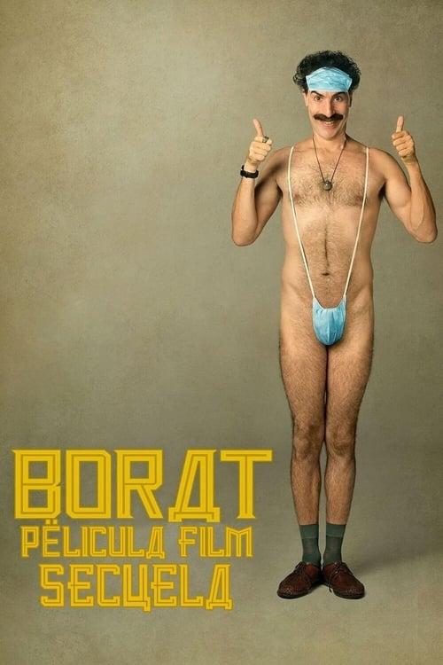 Borat, película film secuela poster