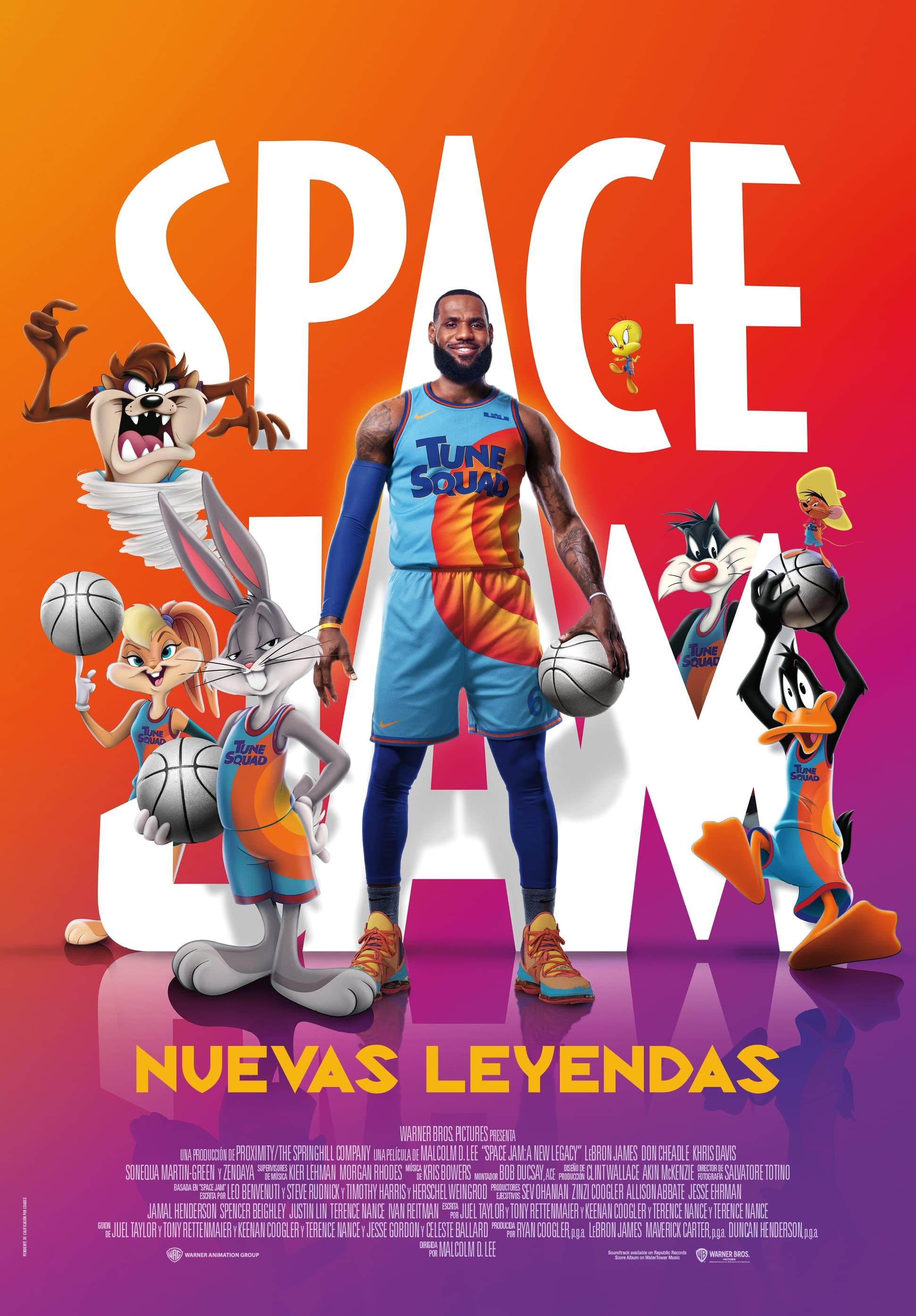 Space Jam: Nuevas leyendas poster