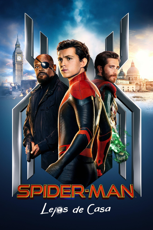 Póster película Spider-Man: Lejos de casa