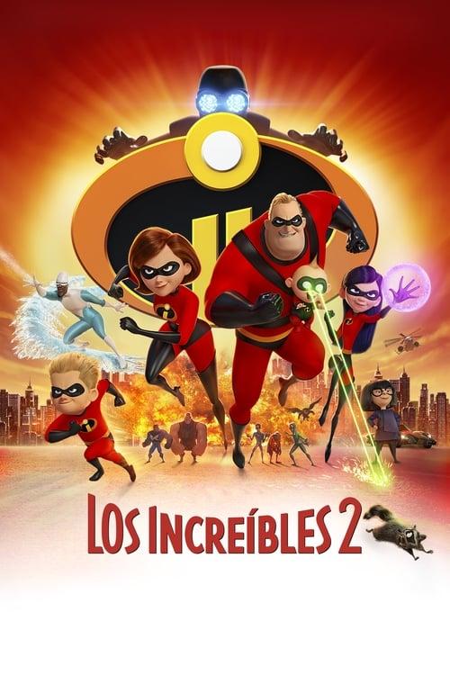 Póster película Los Increíbles 2