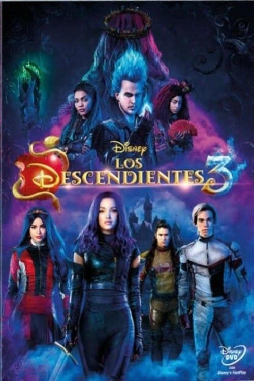 Los descendientes 3 poster