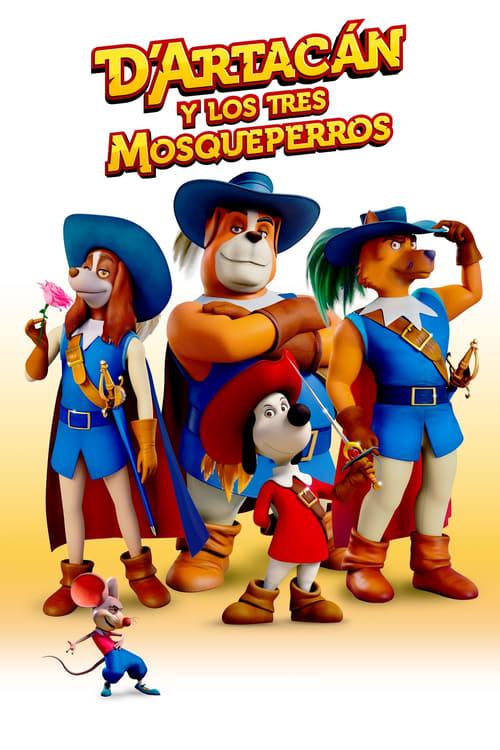 D'Artacán y los tres mosqueperros poster