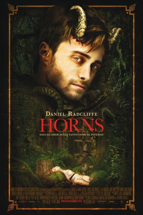 Póster película Horns
