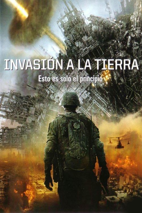 Póster película Invasión a la Tierra
