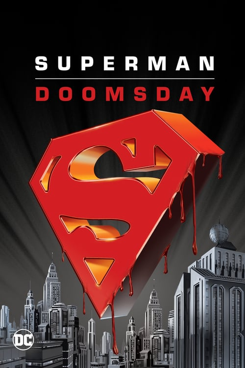 Póster película La muerte de Superman