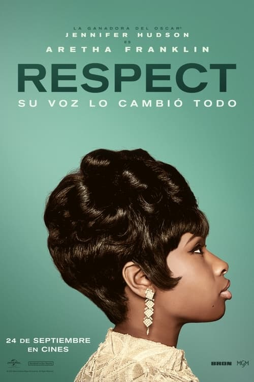 Respect: La historia de Aretha Franklin poster