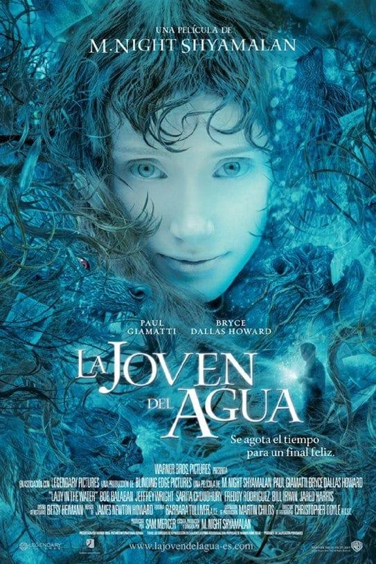 La joven del agua poster