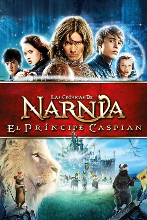 Las crónicas de Narnia: El príncipe Caspian poster