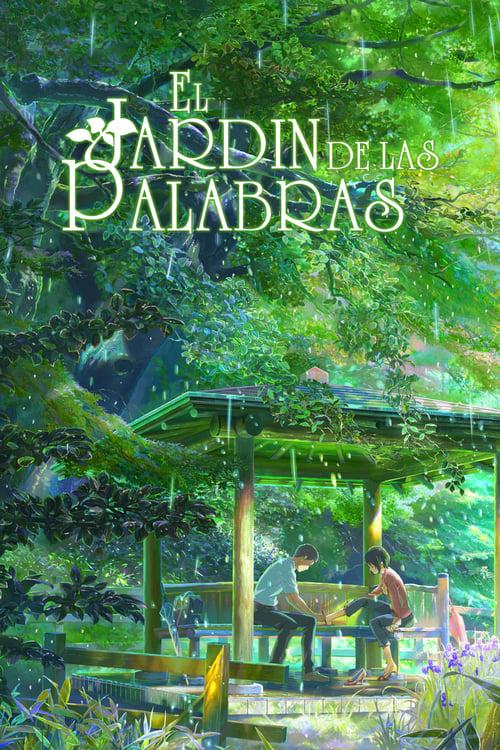 Póster película El jardín de las palabras