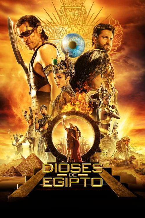 Póster película Dioses de Egipto