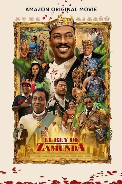 Póster película El rey de Zamunda