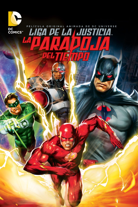 La Liga de la Justicia: La paradoja del tiempo poster