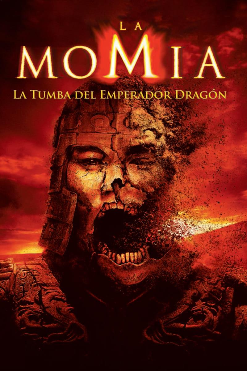 Póster película La momia: La tumba del emperador Dragón
