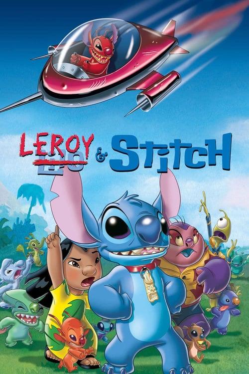 Leroy y Stitch: La película poster