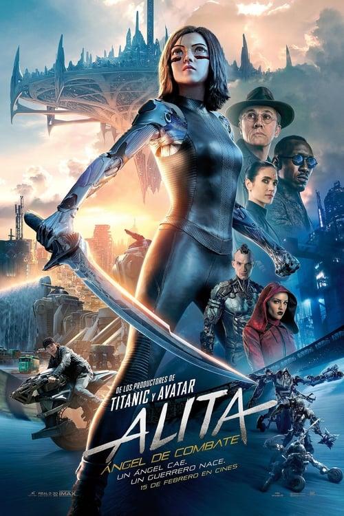 Alita: Ángel de combate poster