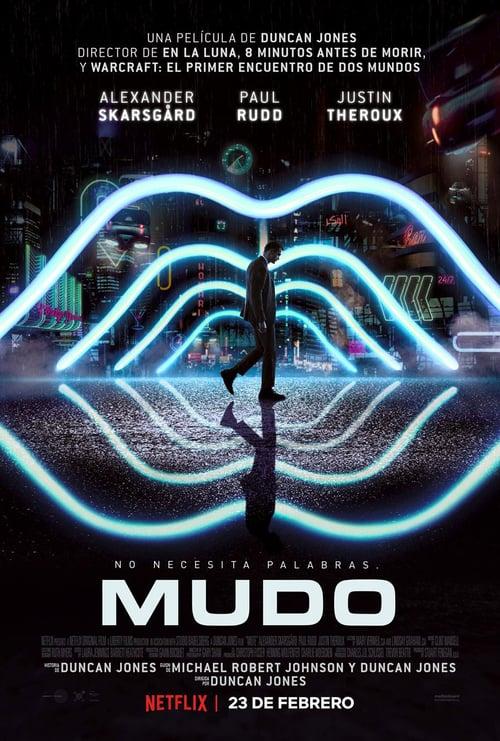 Mudo (Mute) poster