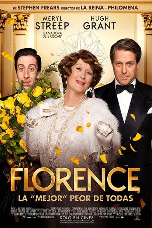 Póster película Florence Foster Jenkins