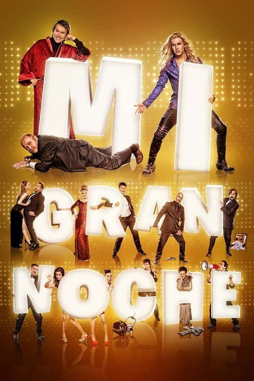 Mi gran noche poster