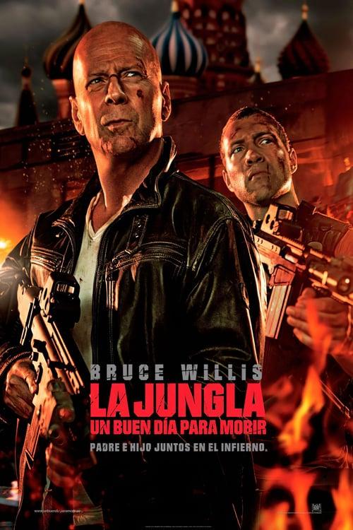 Póster película La jungla: un buen día para morir