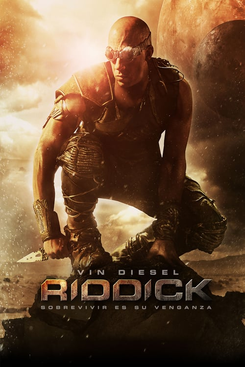 Póster película Riddick