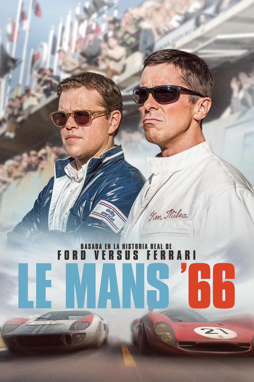Póster película Le Mans '66