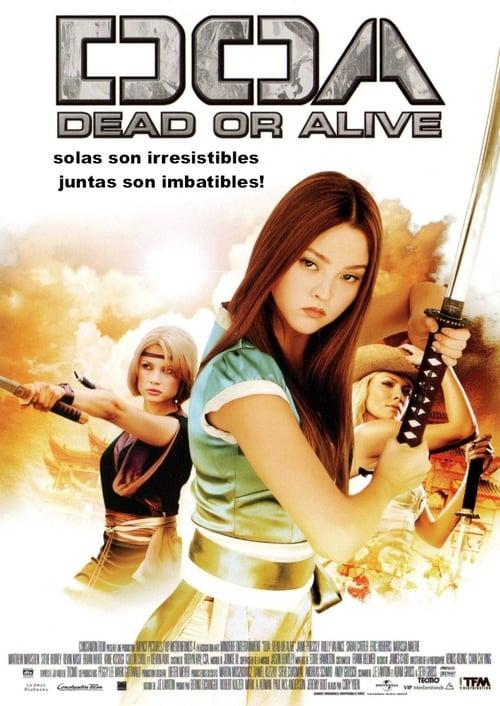 Póster película DOA: Dead or Alive