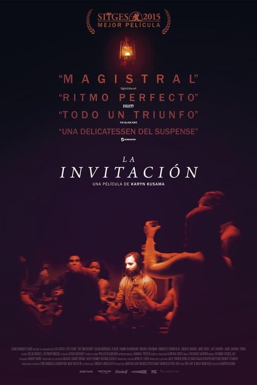 Póster película La invitación