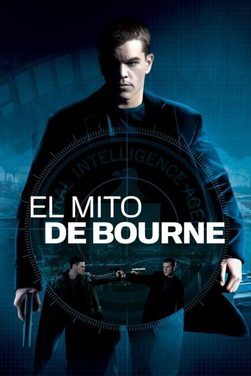 El mito de Bourne poster
