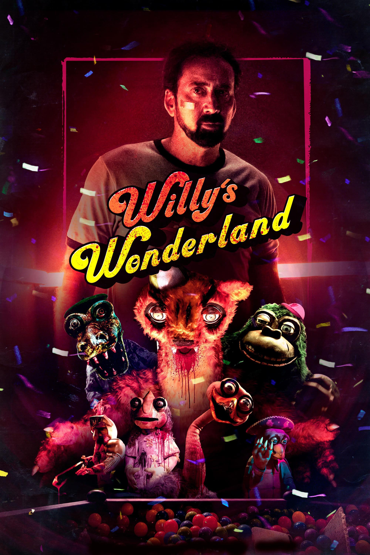 Póster película Willy's Wonderland
