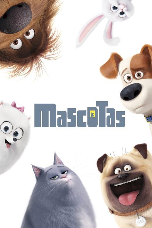 Póster película Mascotas