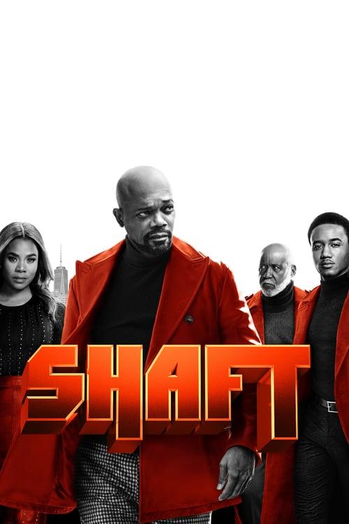 Póster película Shaft
