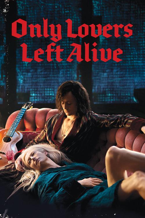Póster película Sólo los amantes sobreviven