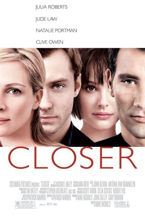 Póster película Closer