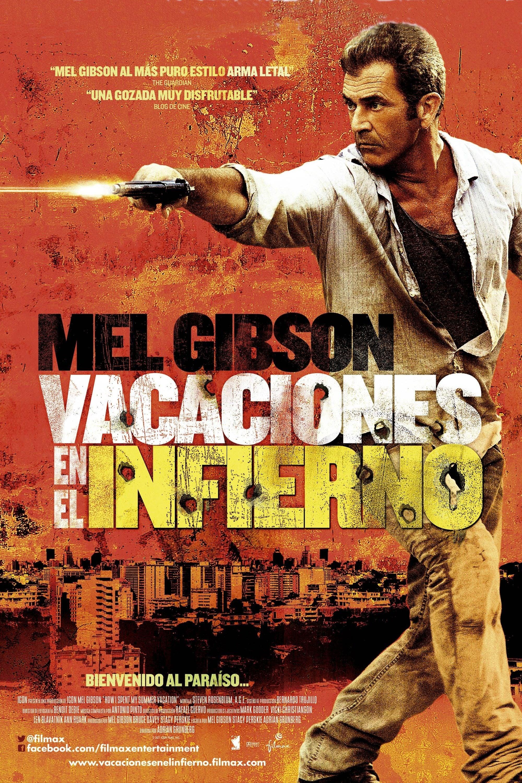 Póster película Vacaciones en el infierno