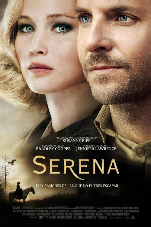 Póster película Serena