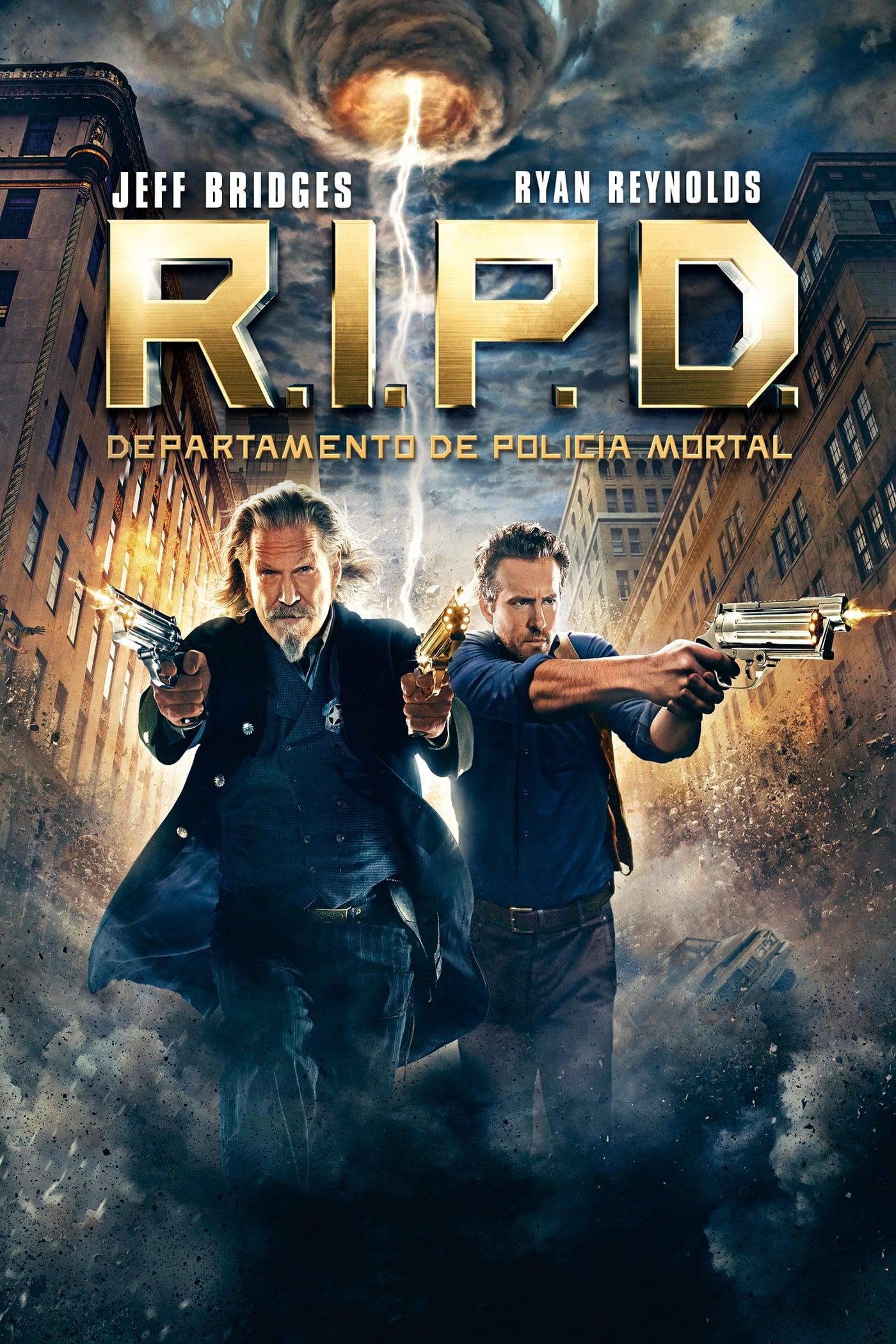 R.I.P.D. Departamento de Policía Mortal poster