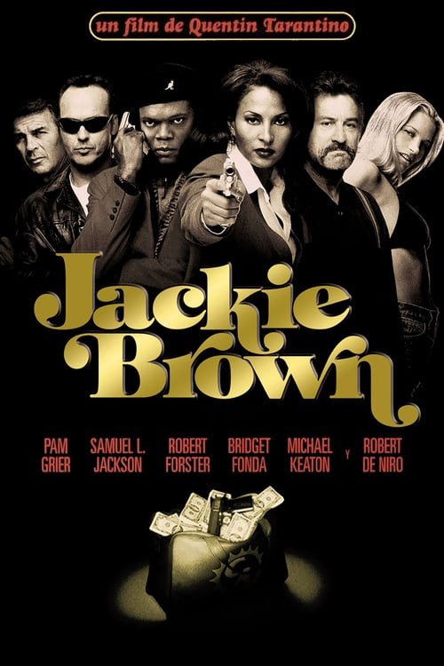Póster película Jackie Brown