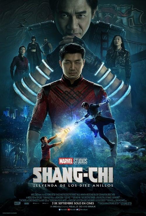Póster película Shang-Chi y la leyenda de los Diez Anillos
