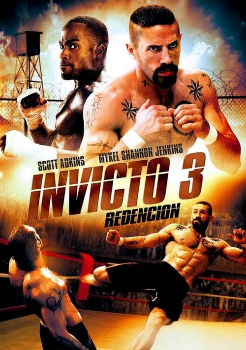 Póster película Invicto 3: Redención