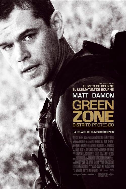 Green Zone: Distrito protegido poster
