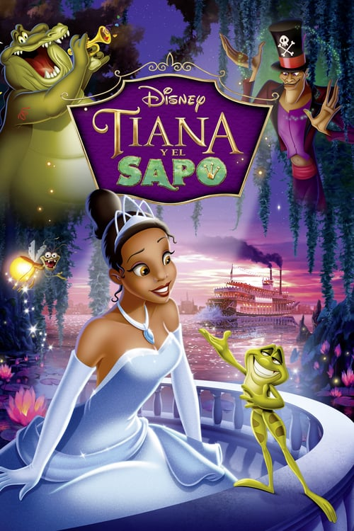 Tiana y el sapo poster