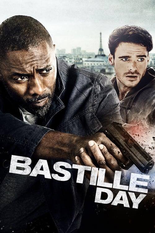 Póster película Asalto en París
