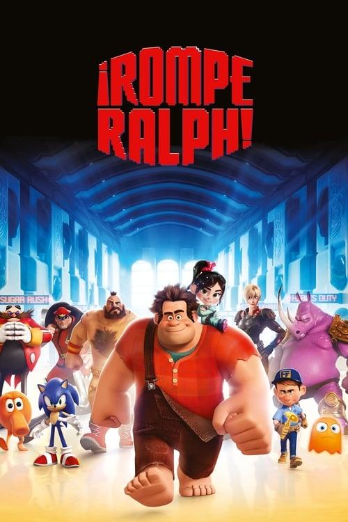 ¡Rompe Ralph! poster
