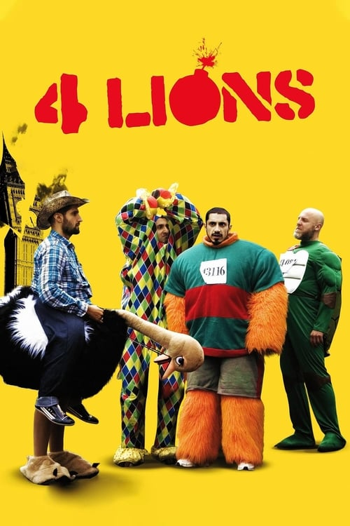 4 Lions poster