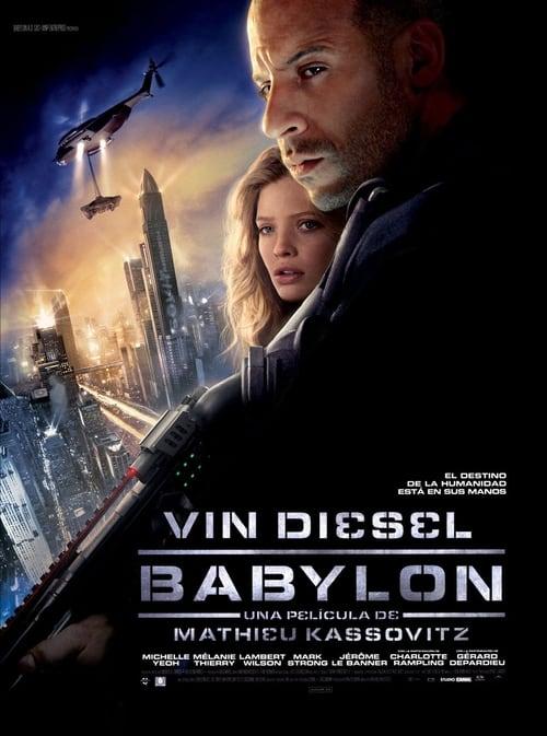 Póster película Babylon A.D.