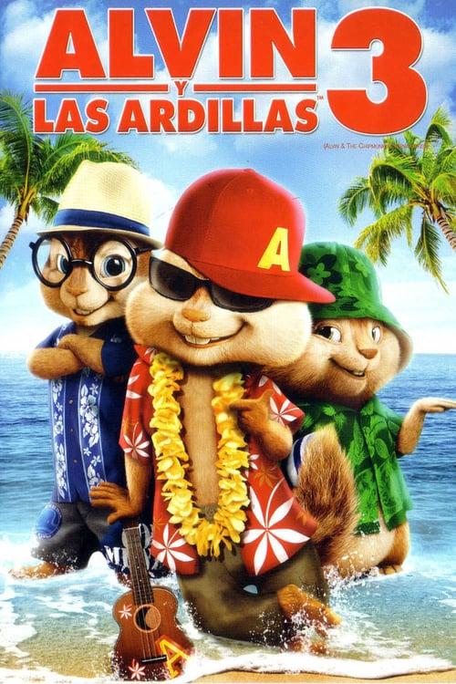 Alvin y las ardillas 3 poster