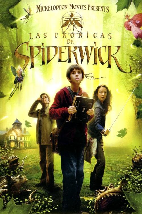 Póster película Las crónicas de Spiderwick