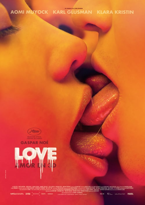 Love (Amor en 3D) poster
