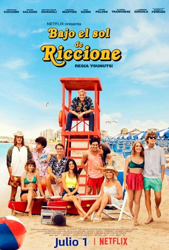 Bajo El Sol De Riccione poster