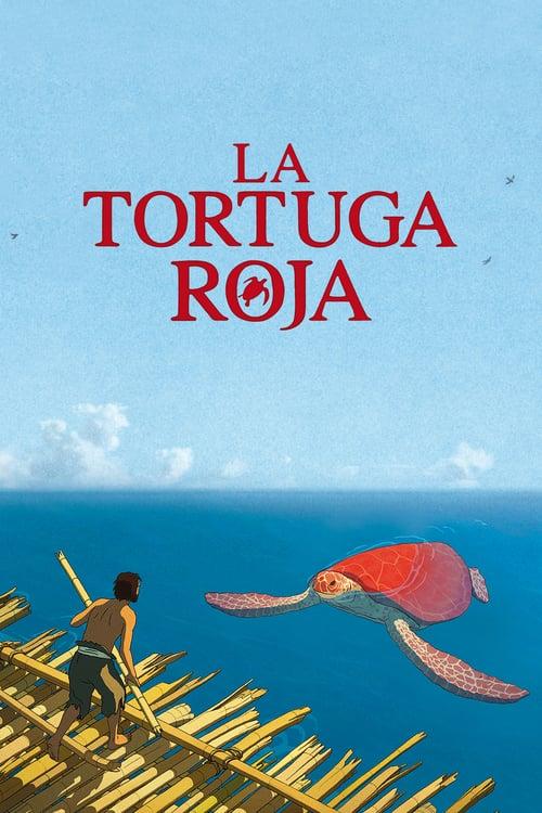 Póster película La tortuga roja